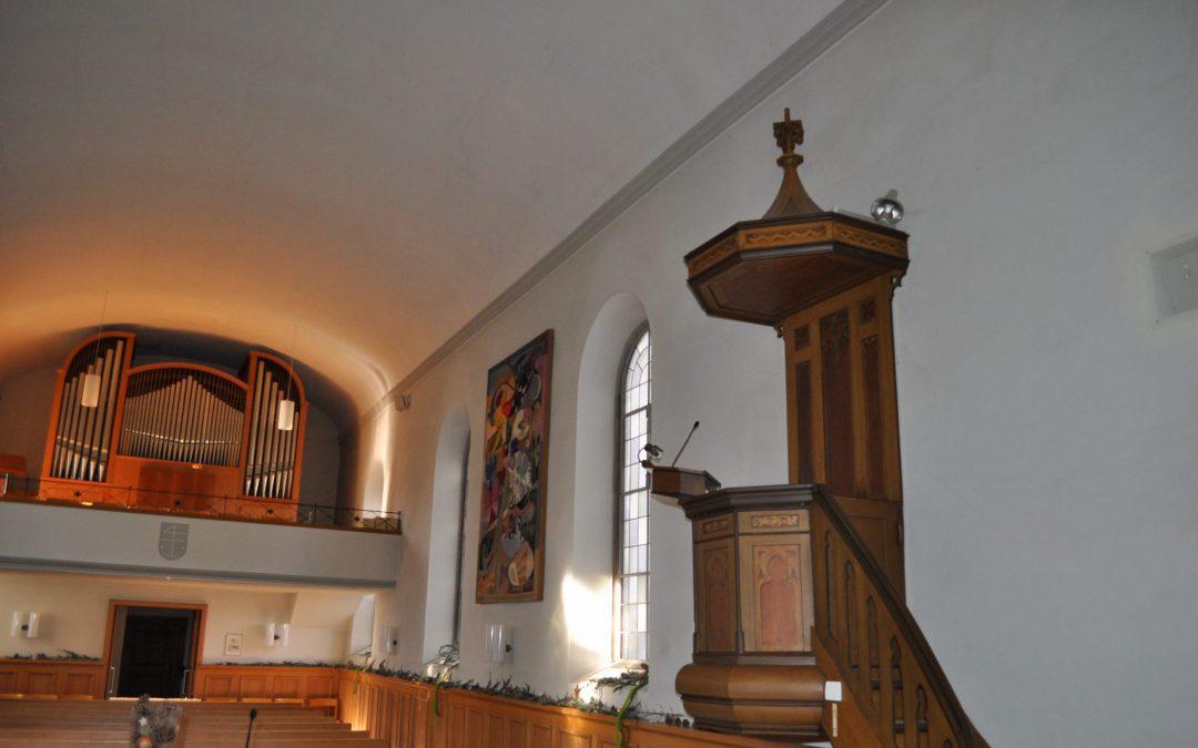 Unsere Kirche wird saniert