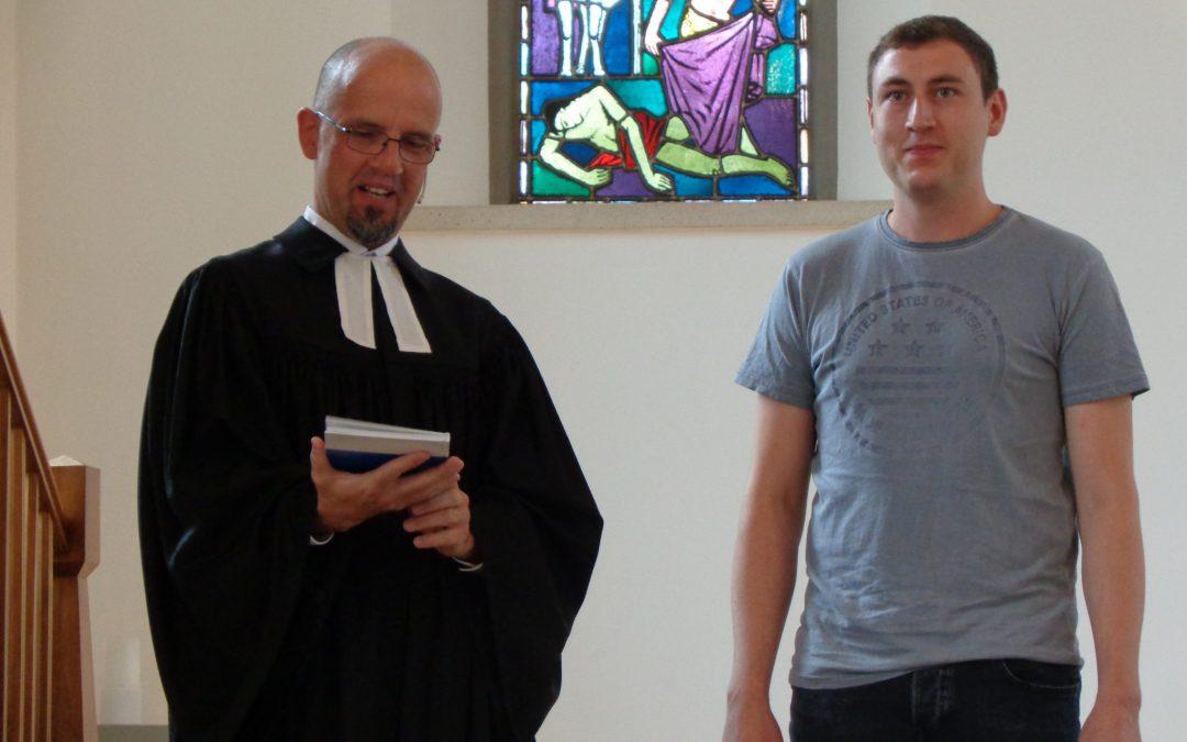 Aeneas Borner ist neuer zweiter Organist