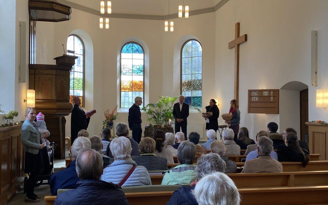 Verabschiedung ausscheidender Kirchenvorsteher