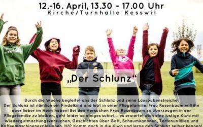 Kinderwoche (12. bis 16. April 2021)