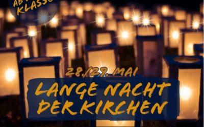 Lange Nacht der Kirchen (28./29. Mai 2021)